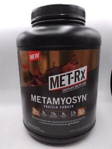 Met-Rx Metamyosyn Protein Powder Chocolate Molten Cake Protein Supplements 4lbs