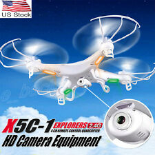 SYMA X5C-1 2.4GHz 4CH 6 Axis RC Quadcopter Helicopter Drone With HD Camera Toy