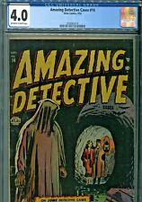Amazing Detective #14 Atlas Comics 1952 CGC Graded 4.0