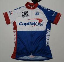 NWT  Giordana Women's Cycling Jersey Capital One  Small
