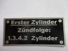 Nameplate Firing Order BMW Eagle Benz Stoewer 1.3.4.2 1342 First Cylinder S55