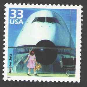 US. 3189 n. 33c. Jumbo Jets, 1970. Celebrate The Century. MNH. 1999