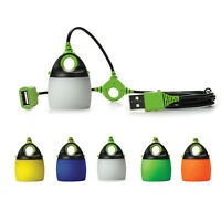 Portable Chainable USB Waterproof Lamp Outdoor Camping Tent Lantern Light 7731