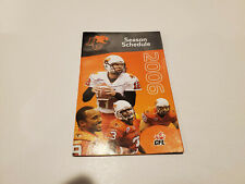 Rs20 Bc Lions 2006 Cfl Football Pocket Schedule - Rona