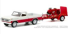 Greenlight Hitch & Tow 1972 Ford F-100 (White/Red) & 1920 Indian (Red) Pre Order