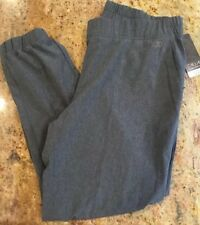 NWT CARRIE UNDERWOOD CALIA ANYWHERE JOGGERS CAVIAR HEATHER GRAY SIZE L