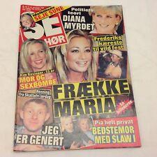 "Kim Basinger Princess Diana Lady Di Vintage Danish Magazine 1997 ""Se og Hoer"""