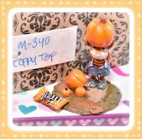 ❤️Wee Forest Folk M-340 Tippy Top Pumpkin Retired Mouse Halloween 2006❤️