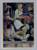 1997-1998 Topps Chrome Jason Kidd #49 Refractor Nets SP HOF