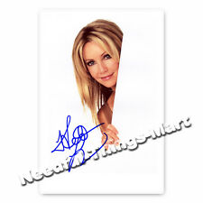 Heather Locklear  - Melrose Place -  Autogrammfotokarte 
