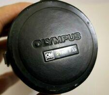 Olympus 21mm f3.5 OM Lens Protective Storage Case genuine Zuiko