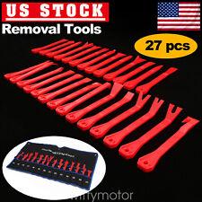 27X Nylon Panel Trim Removal Tools Kit Clip Set Nylon Car Trim Removal Tools Kit