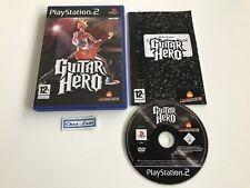 Guitar Hero - Sony PlayStation PS2 - FR - Avec Notice