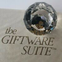 Swarovski The Giftware Suite Disney Crystal Ball Mickey Mouse