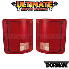 (No Chrome Trim) Tail Light Lamp (Left and Right) for 73-79 Chevy / GMC Pickup