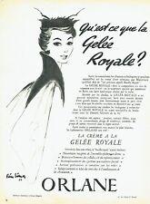 Publicité Advertising 097  1954  cosmétiques Gelée Royale Orlane  Pierre Simon