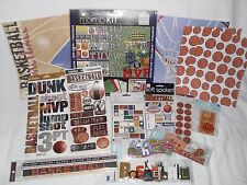 BASKETBALL SCRAPBOOKING LOT #2