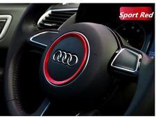 Lenkrad Ring Rahmen Rot Für Audi A1 A3 A4L A5 A6L A7 Q2 Q3 Q5 S3 S5 TT