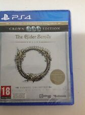 Crown Edition The Elder Scrolls Online Tamriel Unlimited Ps4 PlayStation 4 Game
