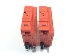 2x Sew Eurodrive MOVITRAC B MC07B0005 5A3 4 00 Frequenzumrichter