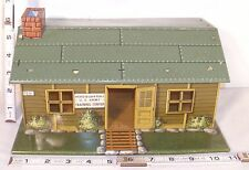 MARX U.S. ARMY TRAINING CENTER TIN PLAYSET BUILDING PART 1960s