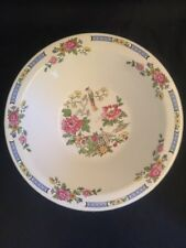More details for vintage lord nelson pottery england t'sing chinese design large bowl