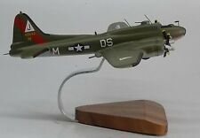 B-17 Boeing Flying Fortress Pink Lady Airplane Handcrafted Wood Model Large New