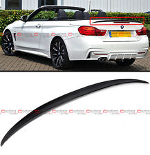 FOR 2014-17 BMW F33 CONVERTIBLE COUPE HIGH KICK CARBON FIBER TRUNK SPOILER WING