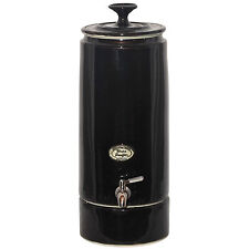 NEW Ceramic Ultra Slim Water Filter Purifier - Pearl Black holds 10 litres