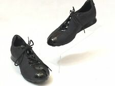 Stuart Weitzman Women's Black Fabric & Patent Athletic Comfort Shoes Size 5M