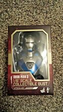 Hot Toys Iron Man 1/6 Scale Collectible Bust Marvel New