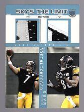 2004 SkyBox Ltd. Edition Ben Roethlisberger/Hines Ward Dual RC Patch 6/10 Made