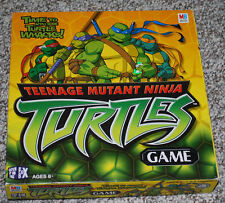 Teenage Mutant Ninja Turtles Board Game Milton Bradley Ages 6+ TMNT 2-4 Players