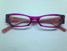 PILEA occhiali da vista donna con strass woman glasses hand made brille lunettes