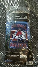 "Colorado Avalanche WinCraft 27""x37"" NHL Officially Liscensed Verticle Flag NEW!"