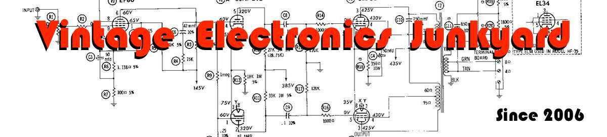 Vintage Electronics Junkyard