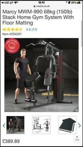 marcy multi gym HG3000 With Mats
