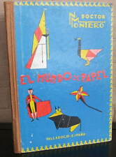 EL MUNDO DEL PAPEL. Trabajos Manuales Graduados. 1965 Hardcover
