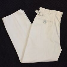Brooks Brothers Country Club 36x30 Dress Golf Pants Metal Adjusters Flat Front