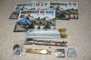 vintage hachette locomotive parts build the mallard model railway O gauge 1804