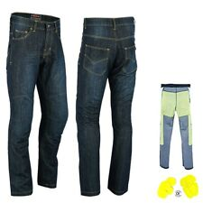 Motorcycle Motorbike Denim Jeans Pants Protective Trousers Lined with Kevlar