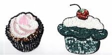Sequin Patch: Afternoon Tea Pastries & Cupcakes!