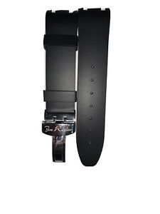 Joe Rodeo Master Black Rubber Band With Silver Buckle