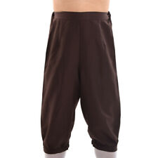 Medieval Men Riding Dickens Trousers Steampunk Victorian Pants Fancy Costume