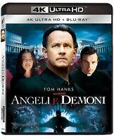 Angeli e Demoni - Extended Cut (4K Ultra HD + Blu-Ray Disc) - Nuovo Sigillato