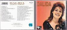 CD 29T DALIDA 1957-1967 BEST OF 1991 EXCLUSIVITÉ DIAL RARE !!