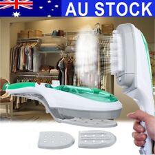 AU 1000W Portable Travel Mini Handheld Electric Iron Garment Steam Steamer Brush