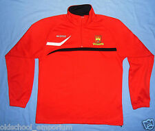 Kilnamanagh FC / ERREA - MENS red Zip-up Track Top / Jacket. Size: L