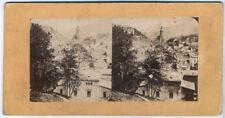 Echtes Original 1860er Jahre Stereofoto DEUTSCHLAND Baden-Baden