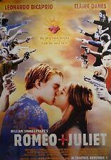 Romeo & Juliet 24x34 Theatrical Art Movie Poster Leonardo DiCaprio